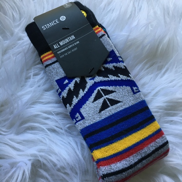 Stance Other - NWT STANCE ALL MOUNTAIN SOCKS SIZE L
